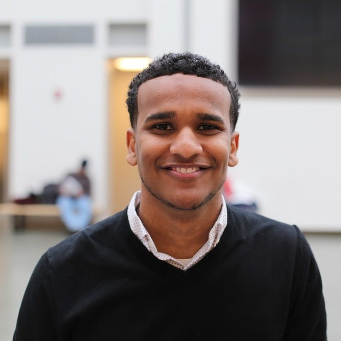 Ahmed Ahmed '17 was chosen as a 2017 Rhodes Scholar (Katie Sims / Sun Staff Photographer)